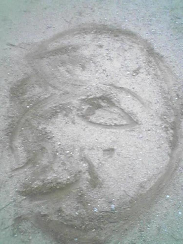 Sand Portrait large